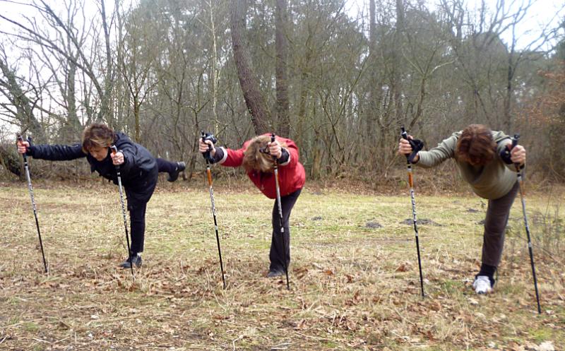 une autre façon de planter le bâton
